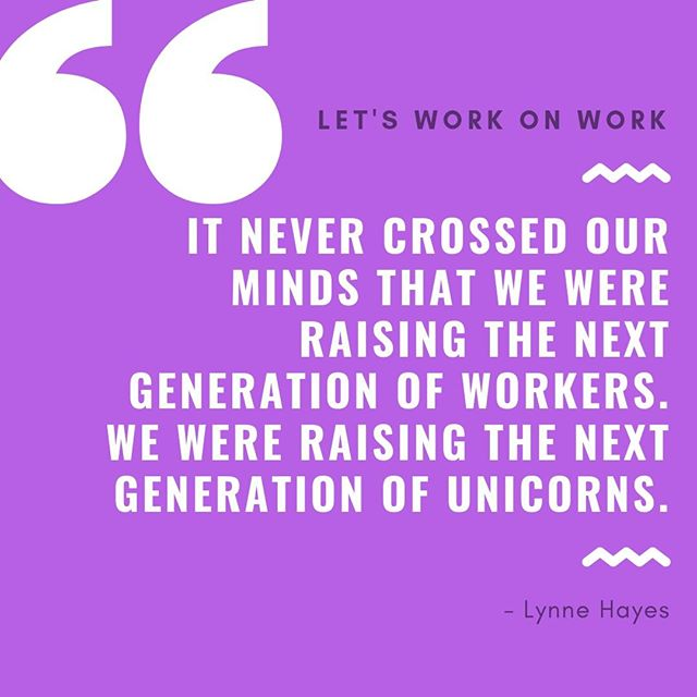 Work isn't the only thing that has changed drastically from generation to generation - parenting styles have adjusted as well! But BE A UNICORN TODAY! #mondaymotivation