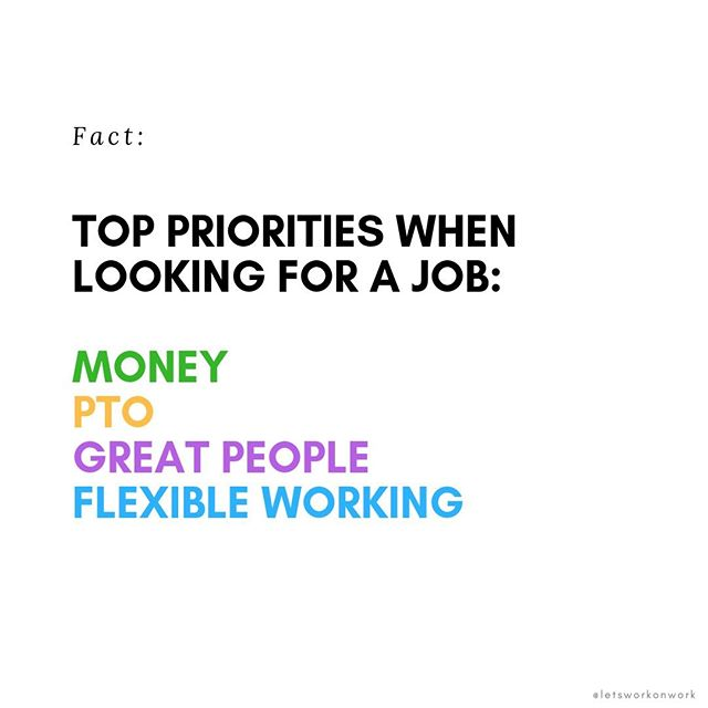 How many of these top 4 priorities could your company check off? And do you have more emphasis on one more so than the other?  If the answer is yes - what are they?