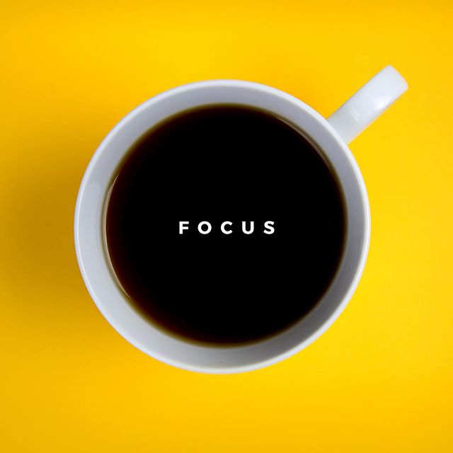 FILLER' UP! Who else is already on their second...or third cup of fuel this #HumpDay? Also. Focus, it's so hard some days, but we're here to let you know if your mind wanders, embrace it!