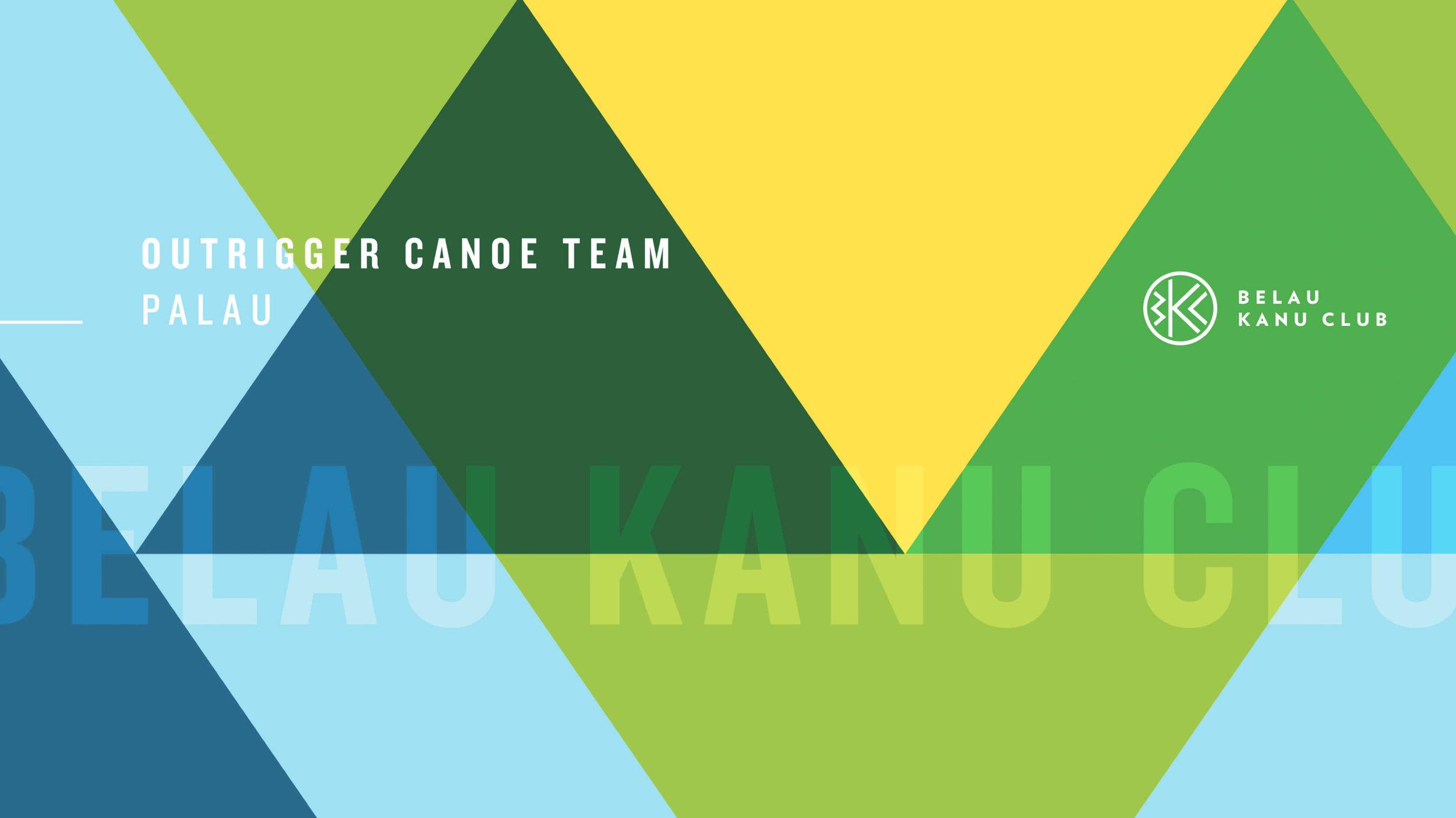 Belau Kanu Club outrigger canoe brand system