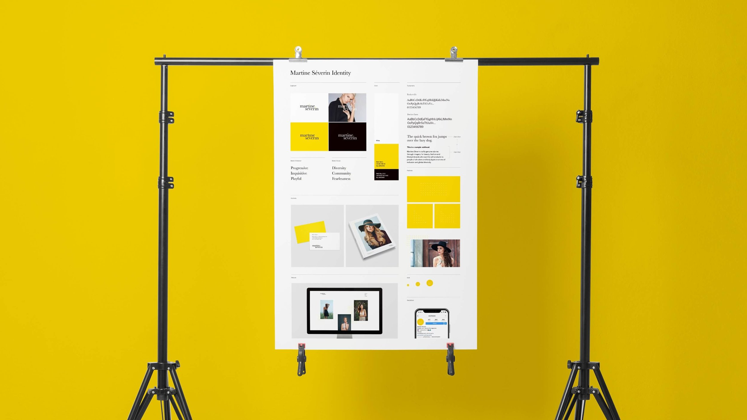 Martine Severin Brand Identity Toolkit