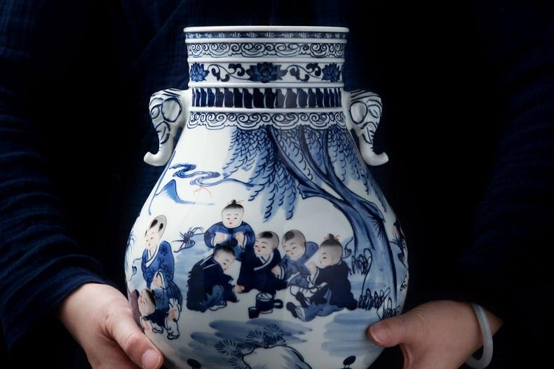 Jingdezhen porcelain -