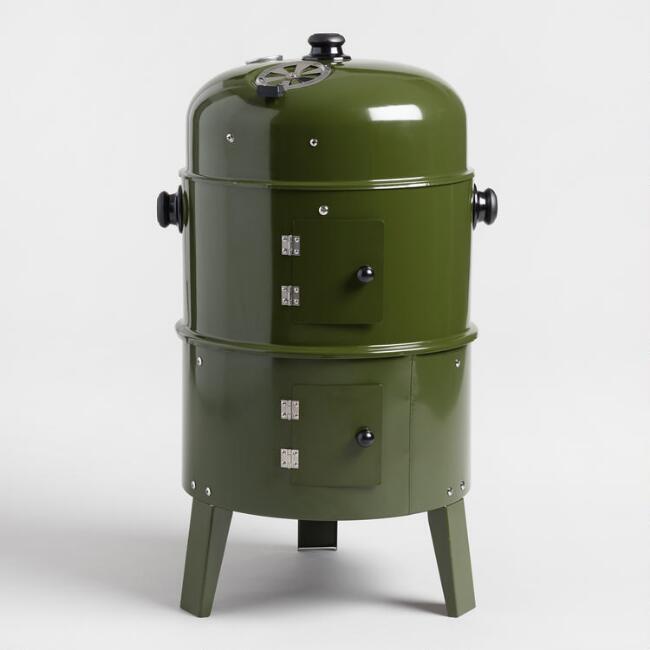 World Market Army Green Smoker
