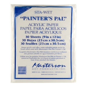 Sta-Wet Painters Pal Palette