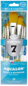Filbert Acrylic Brush