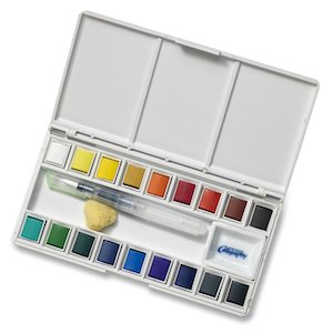 Travel Watercolor Set