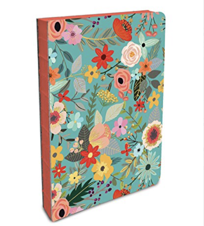 Studio Oh Floral Notebook Journal for the ultimate girl boss entrepreneur gift guide by Melissa Lewis