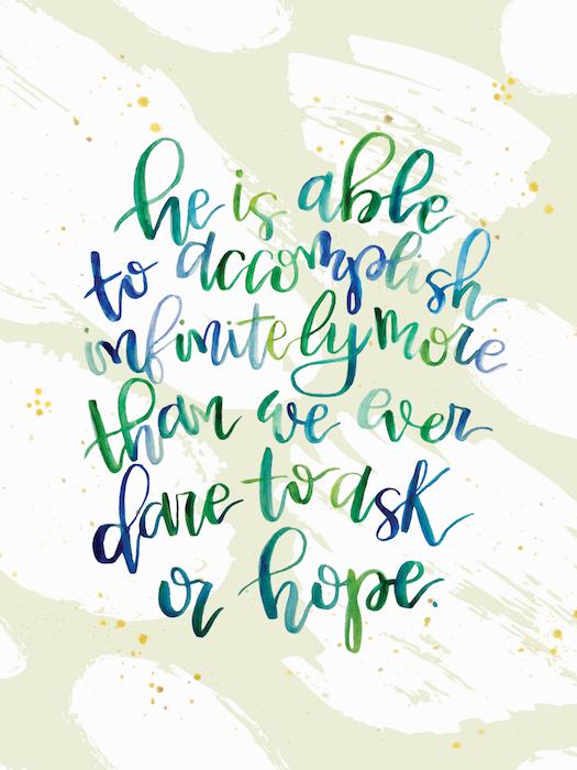 January 2019 iPad Handlettered Scripture Wallpaper by Melissa Lewis Art