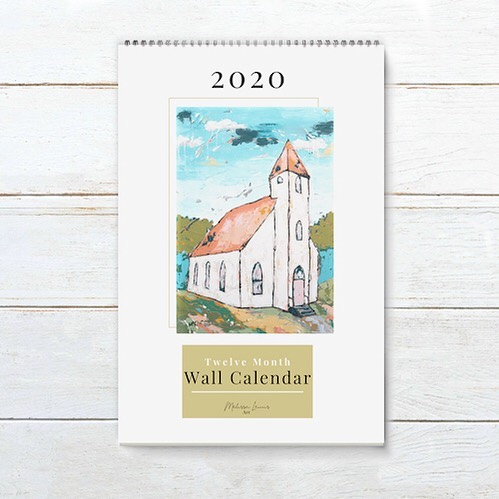 Look what is coming!  The new 2020 Art For Your Home Wall Calendar 🗓. It includes a bonus month too, so you are getting 13 prints in one calendar!  Pre-Orders will start in a couple weeks! 🙋‍♀️Who wants a calendar?