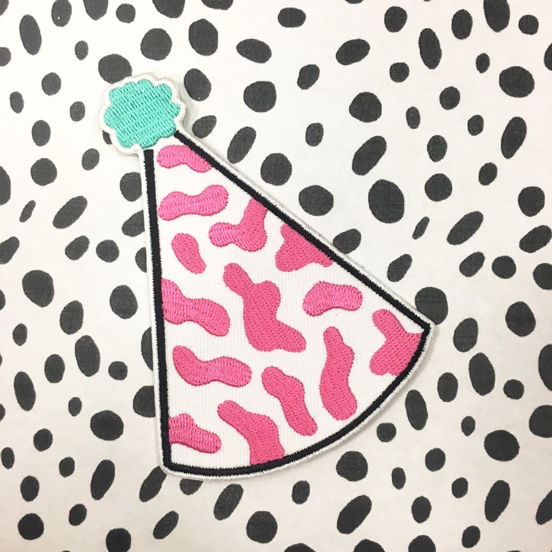 Albie x Party Hat Patch | $12