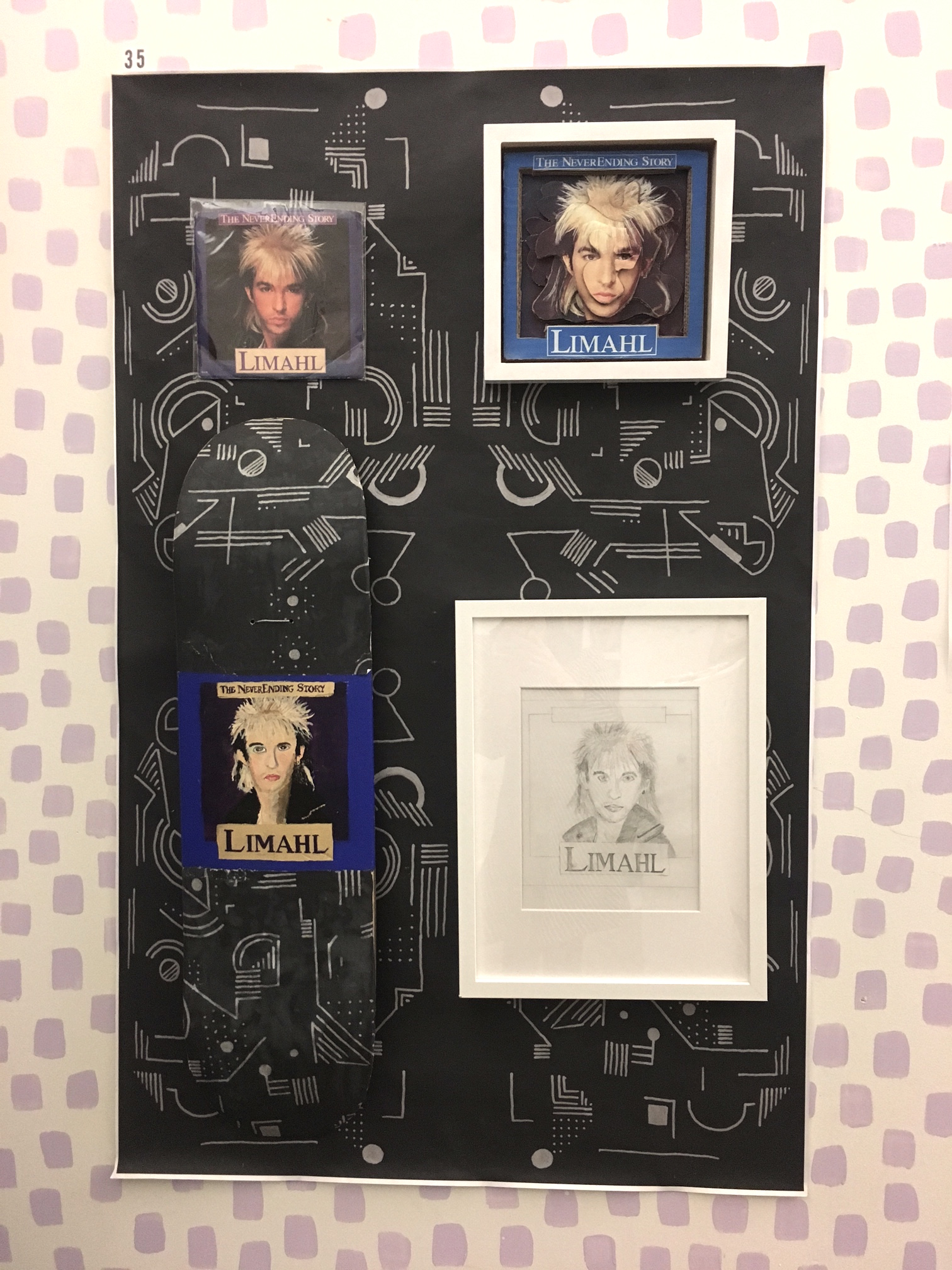 Limahl Wall by Travis Ritter