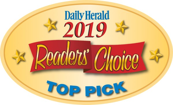 Glamtique was voted a Daily Herald Top Pick in 3 categories for the 2nd year in a row! - *Best Day Spa*Best Hair Salon*Best Women's Clothing Store