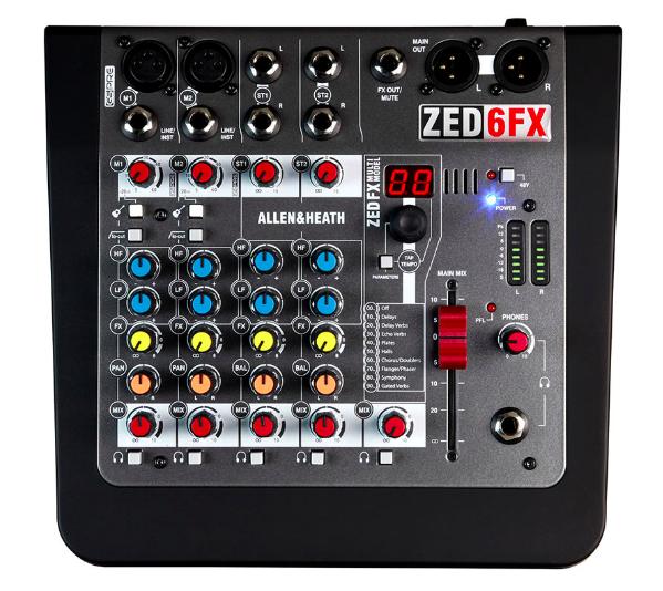 allen heath zed6fx - Analog Mixer