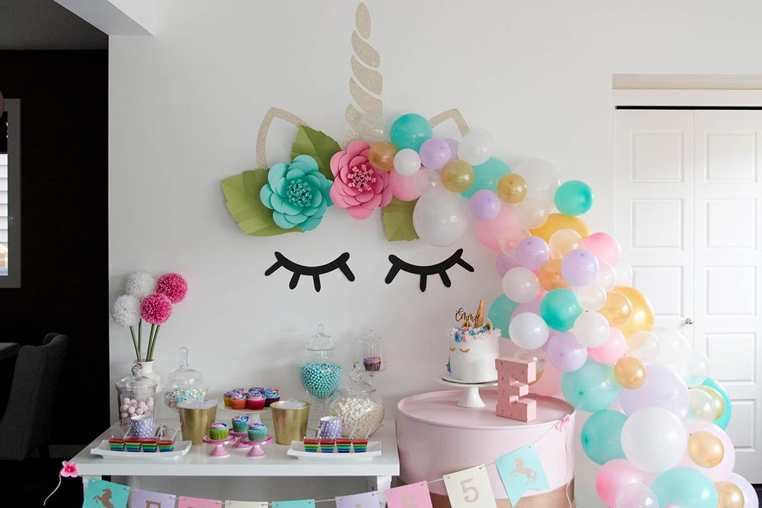 Unicorn Birthday Party - Gallery