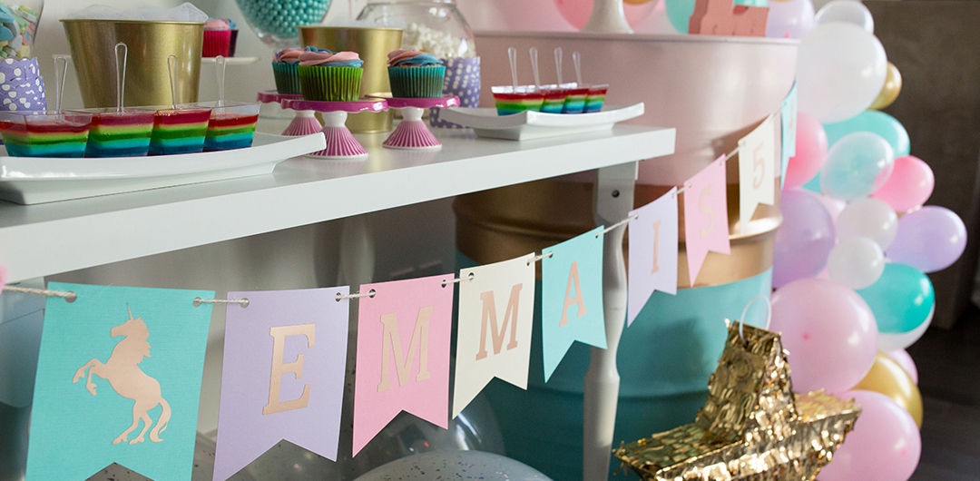 Party Decor - Birthday Parties • Baby & Bridal Showers • Special Events