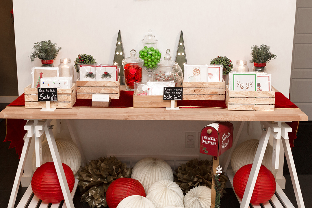 Christmas Pop-up Sale - Gallery