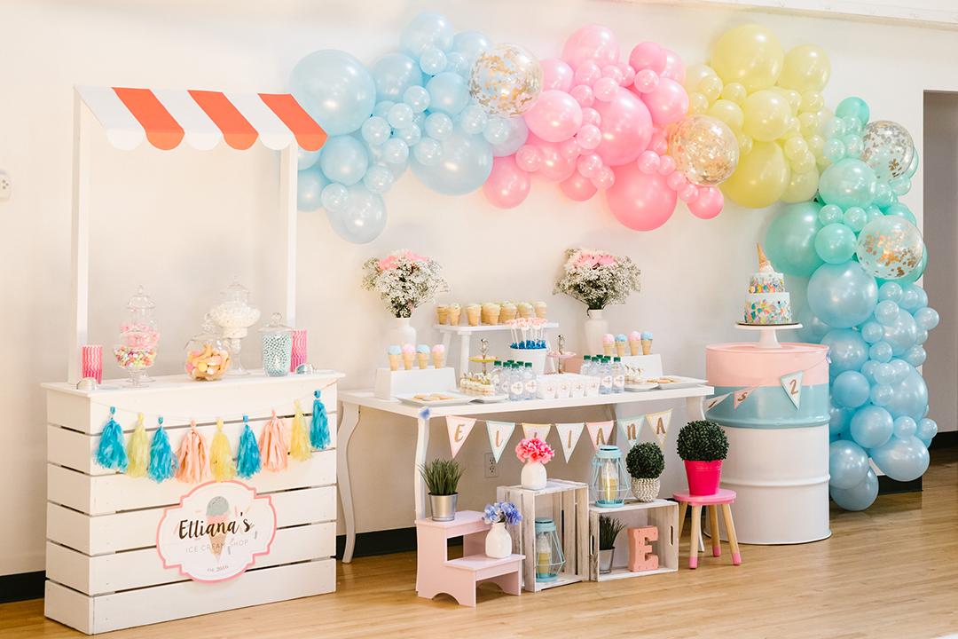 Ice Cream Birthday Party - Gallery
