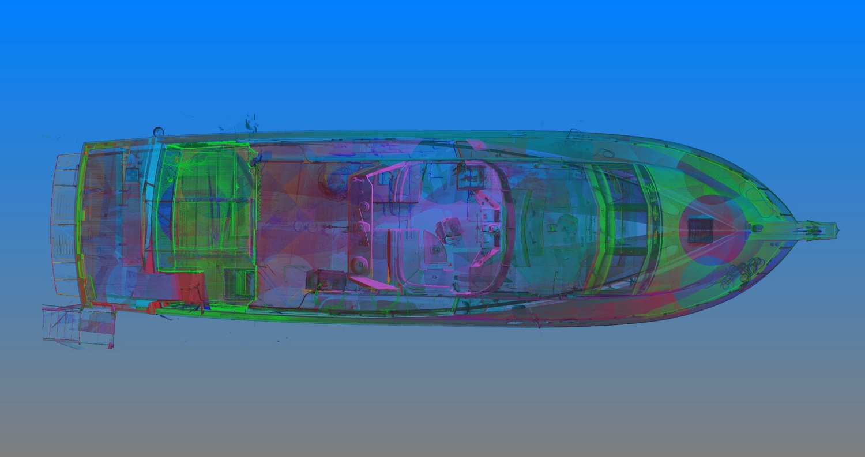Yacht 3D Laser Scan