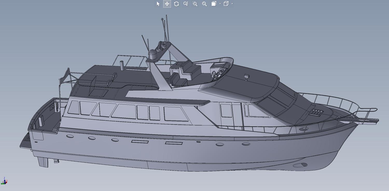 3D As Built Marine model