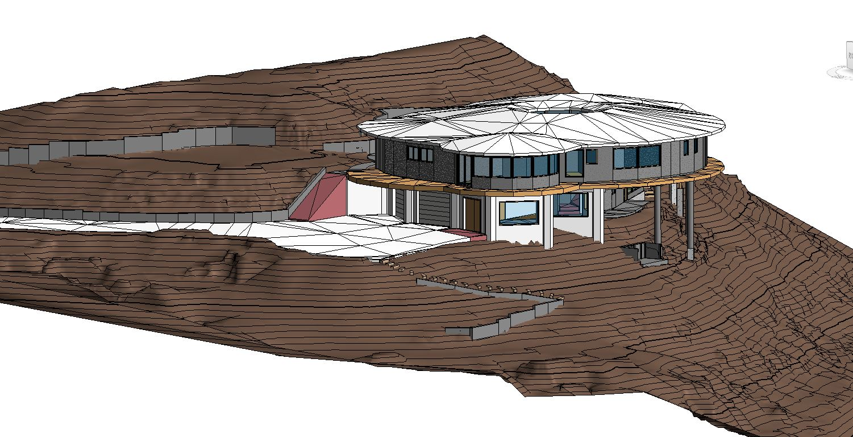 3D Revit Model of Residential Building