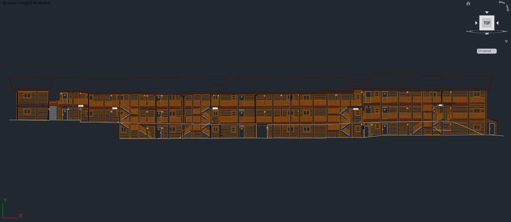 Building CAD Elevation