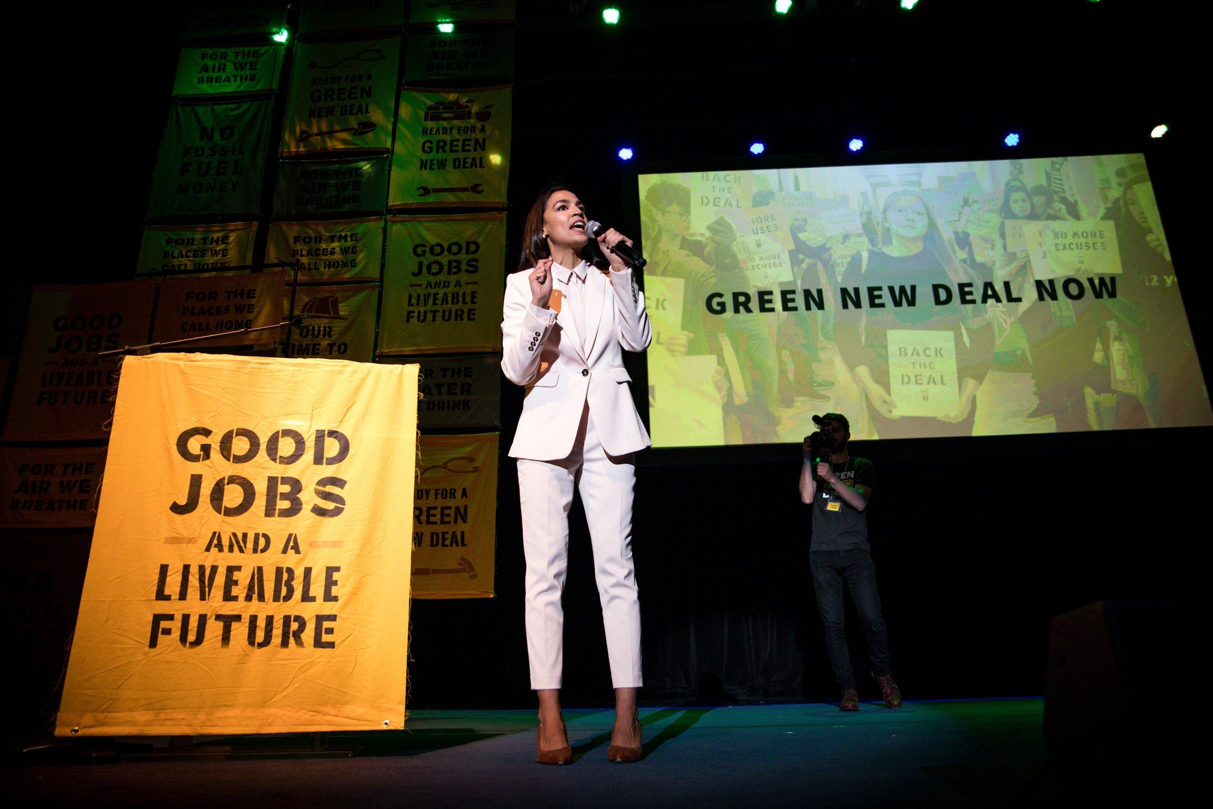 House Representative Alexandria Ocasio-Cortez
