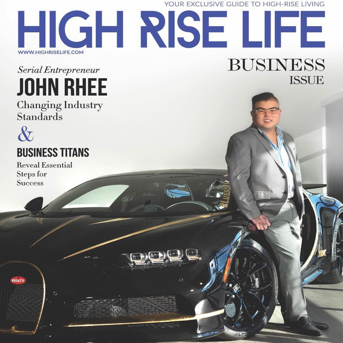 MARCH 2019 | High Rise Life  Lusso owner John Rhee feature