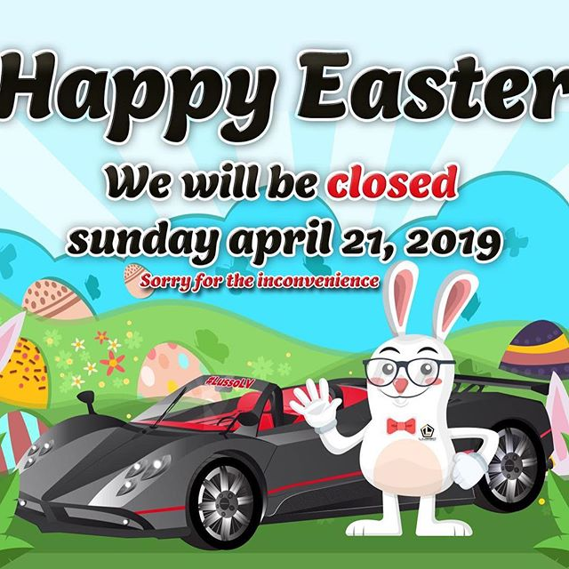 We'll be closed tomorrow to celebrate Easter ! Have a great day with your families and see you Monday !