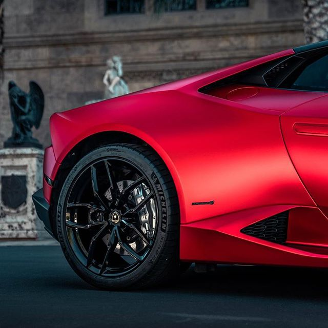 E L E V A T E : Clean & Pristine. Satin Red Wrap. Call for a wrap quote now!