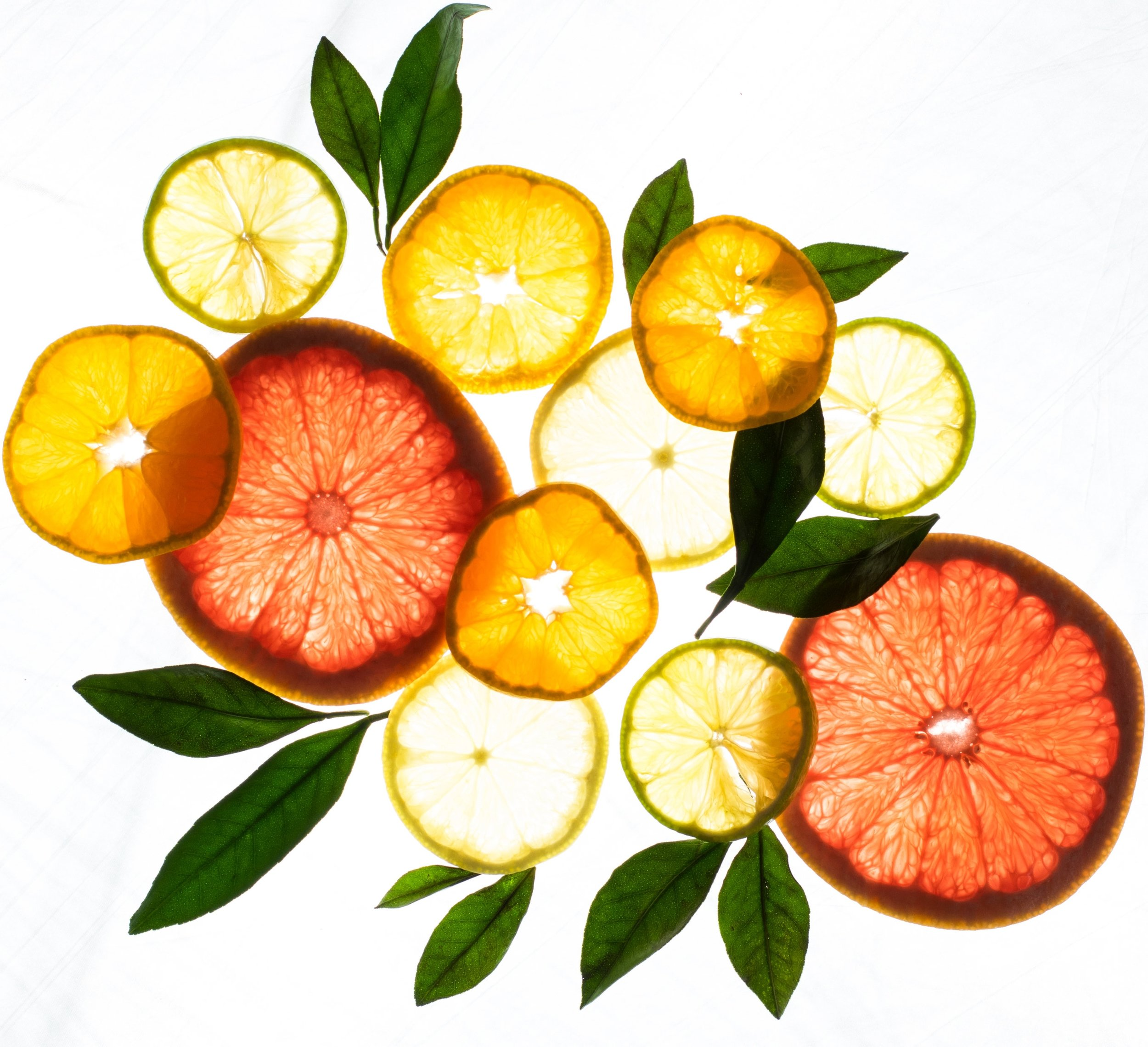 The 2 Most Powerful Antioxidant for Pampered Skin, citrus fruit with antioxidant vitamin C for naturally based skincare