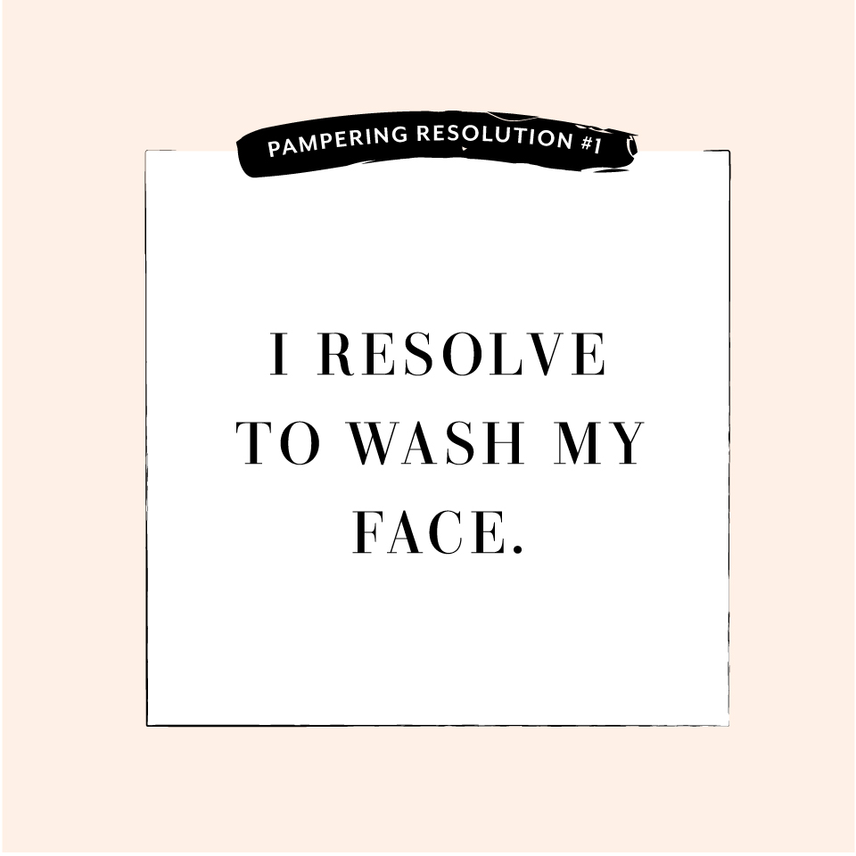 Perfectly Posh Pampering Resolution #1