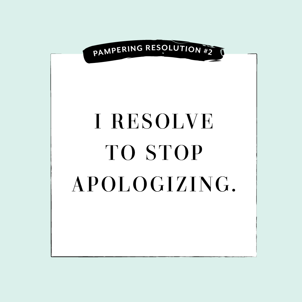 Perfectly Posh Pampering Resolution #2