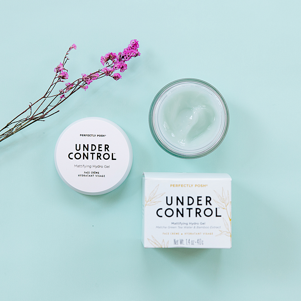 Perfectly Posh Under Control Mattifying Hydro Gel Cream jelly-cream moisturizer for oily skin