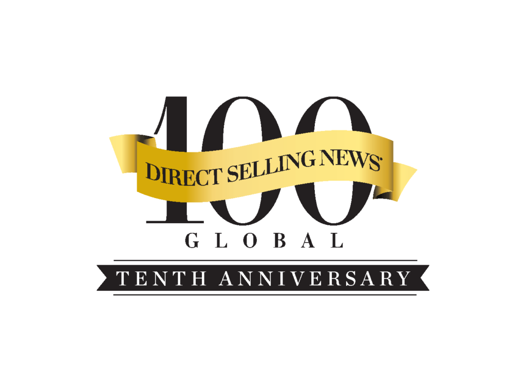 Perfectly Posh won Direct Selling News Tenth Anniversary 100 Global Best Direct Sales Companies