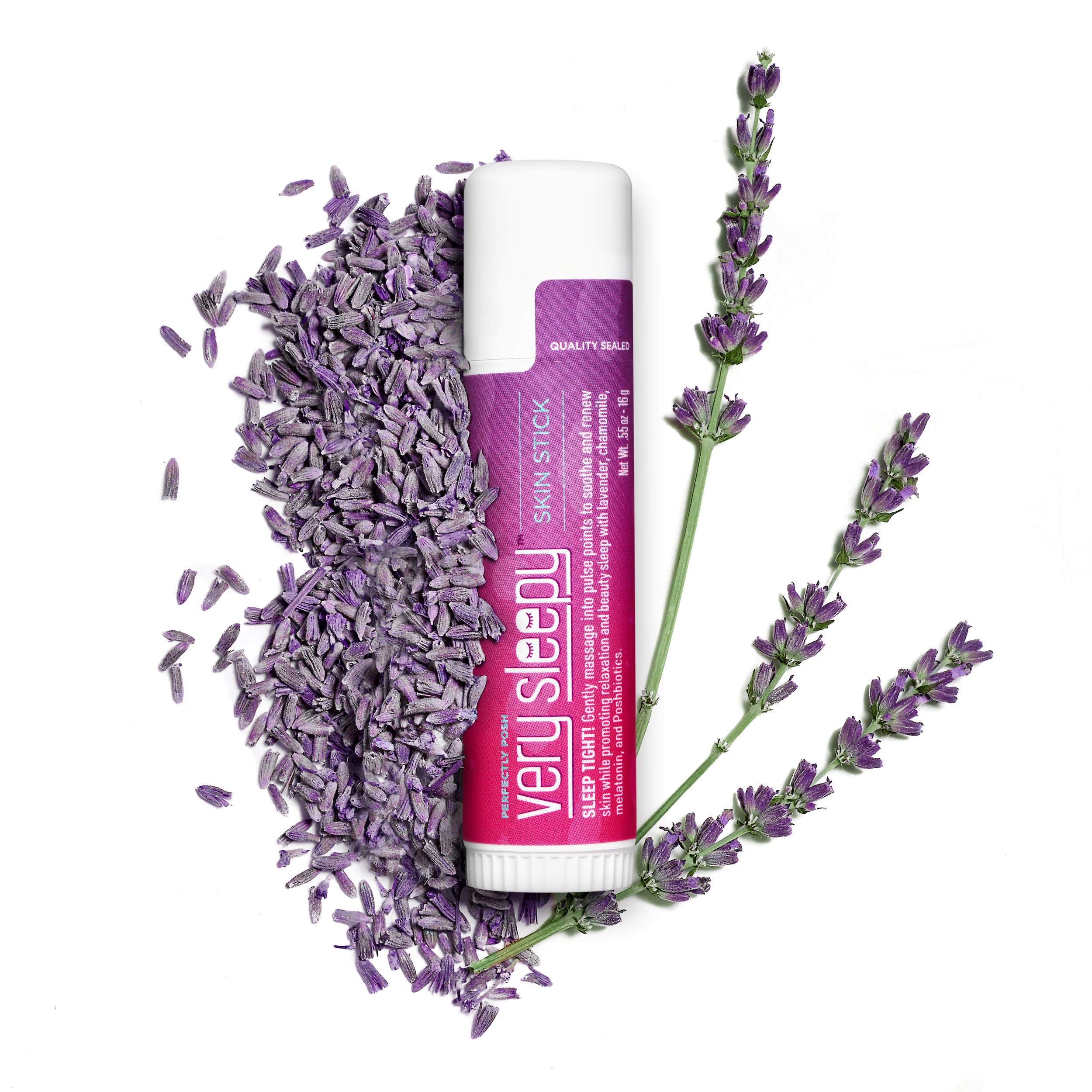 Perfectly Posh Very Sleepy Skin Stick with melatonin and lavender essential oil