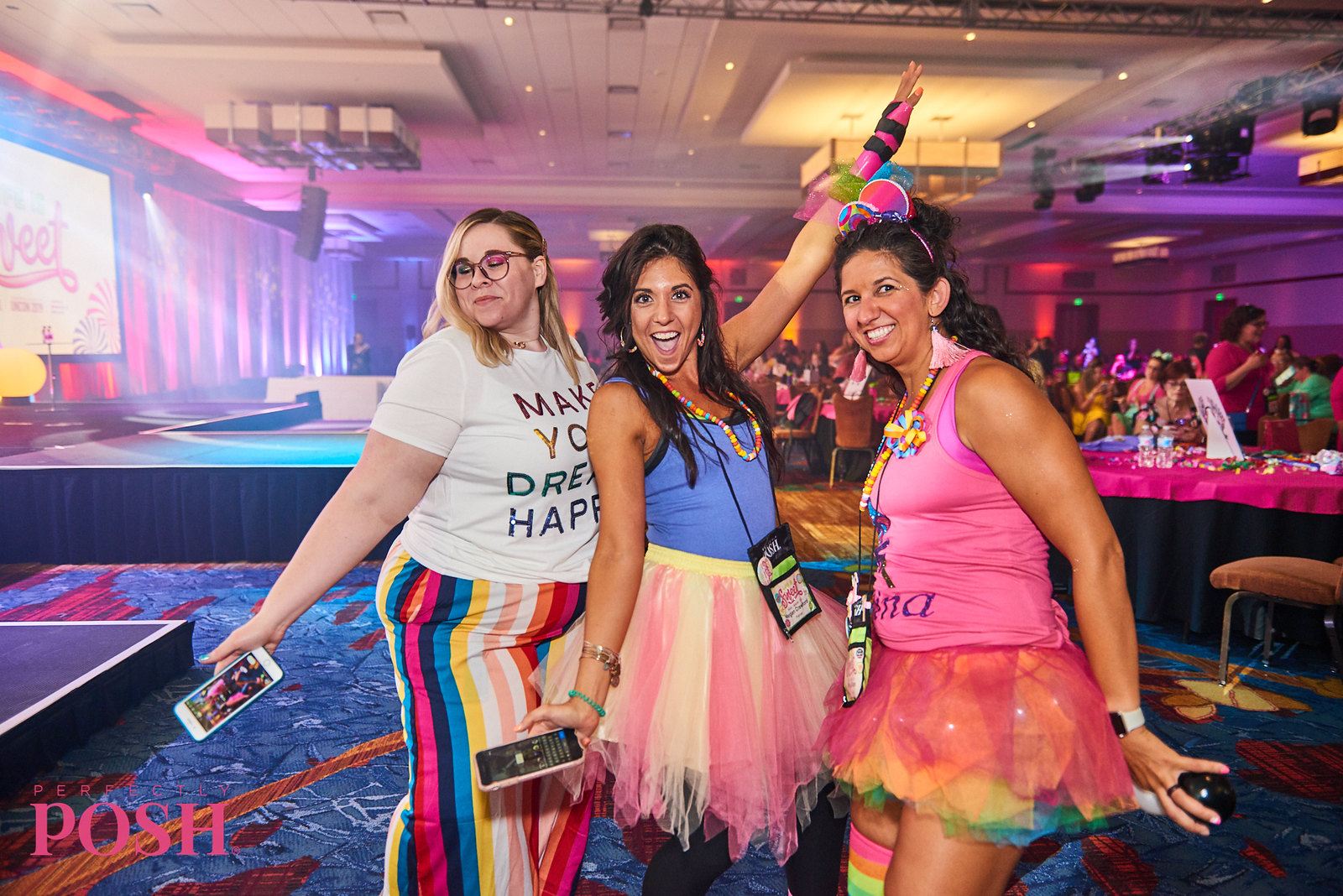 Perfectly Posh Influencers dress up for Posh Night 2019 at UnCon in Indianapolis