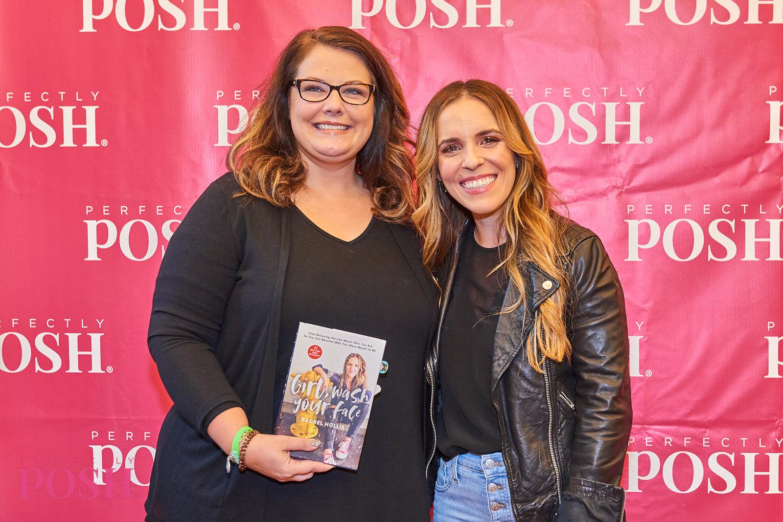 Perfectly Posh UnCon 2019 keynote speaker Rachel Hollis with Influencer