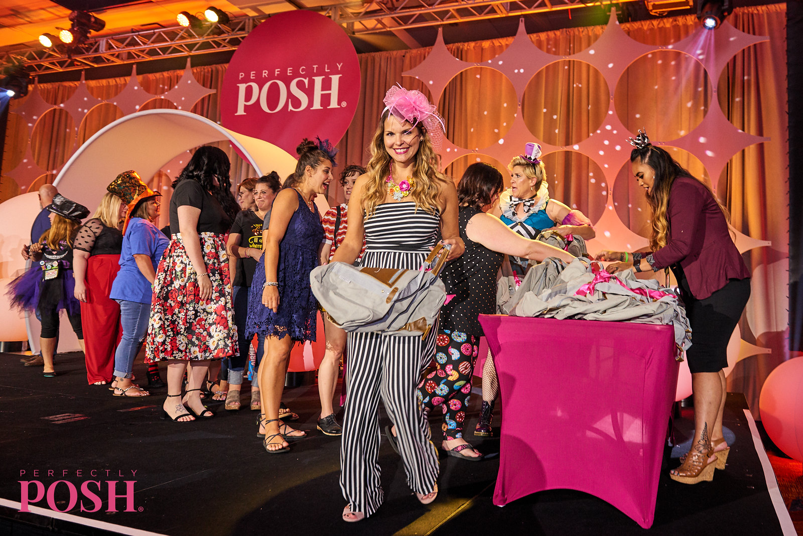Awards and recognition for Perfectly Posh Influencers at the Mad Hatter Tea Party at UnCon 2019