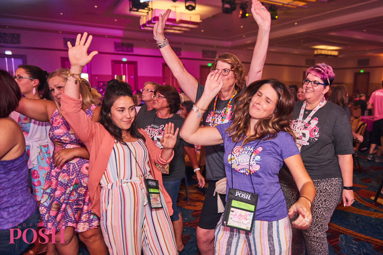 Perfectly Posh Influencers dancing at Life is Sweet UnCon 2019 in Indianapolis