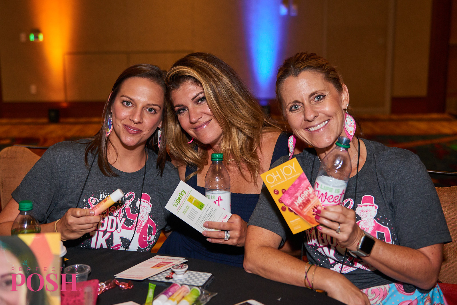 Perfectly Posh Influencers show off new Knosh products at Posh Night UnCon 2019