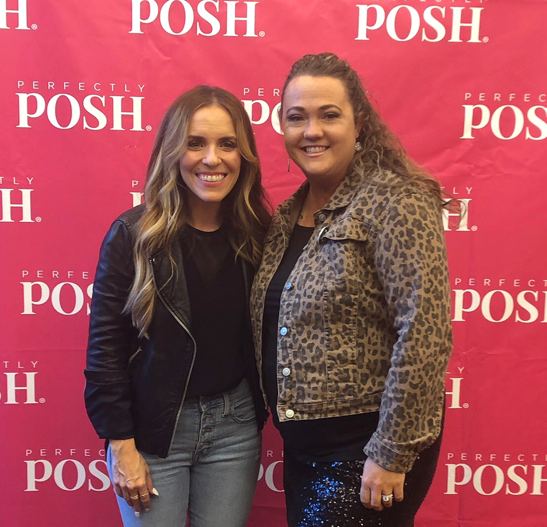 Perfectly Posh Influencer BoWynn Ashworth and author Rachel Hollis at UnCon 2019
