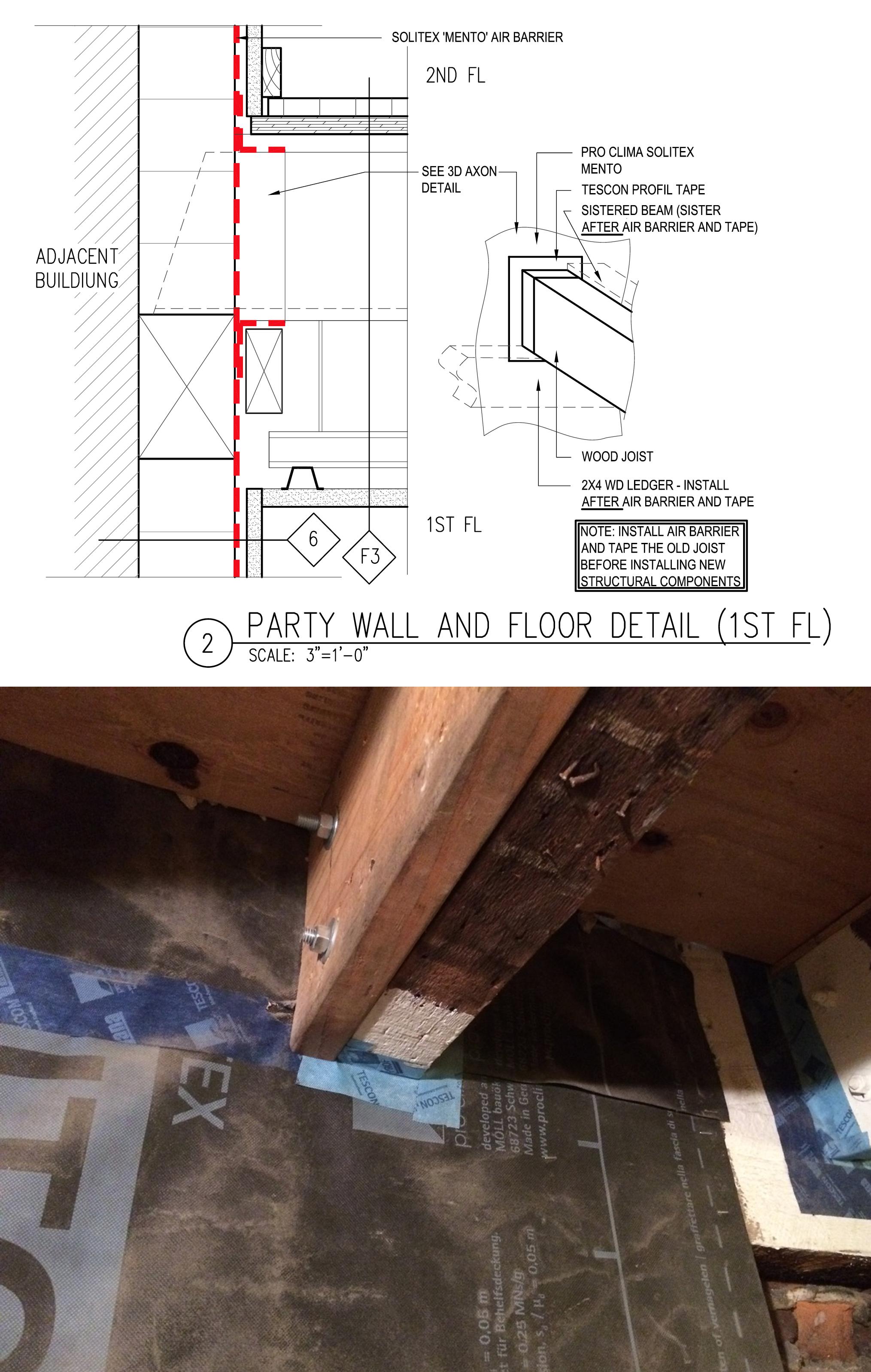 Detail drawing courtesy Paul Castrucci Architect