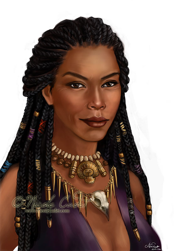 A Voodoo Witch OC - 'witch of the wilds' for the Dragon Age RPG