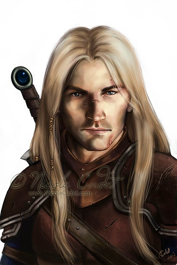 Elthas - a sellsword mercenary who is Viking inspired (despite being clean shaven)