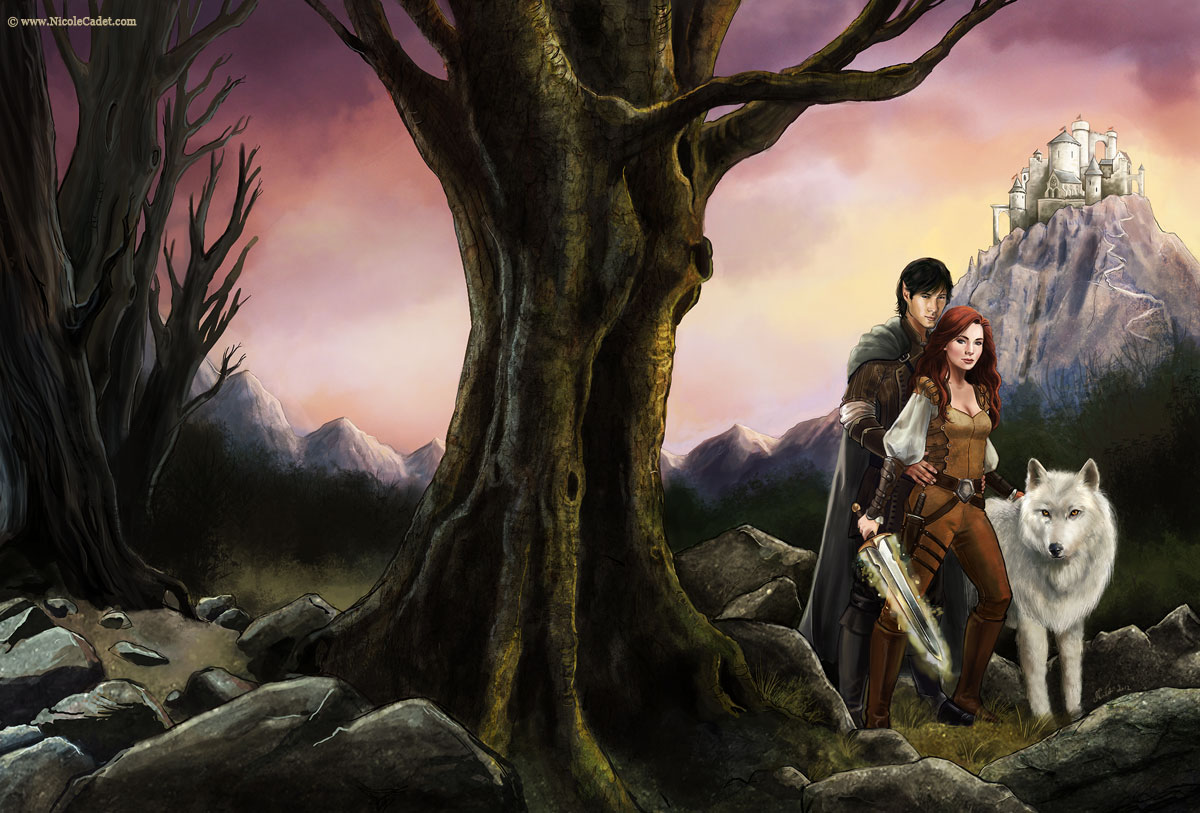 Sword's Call - The first cover in the series