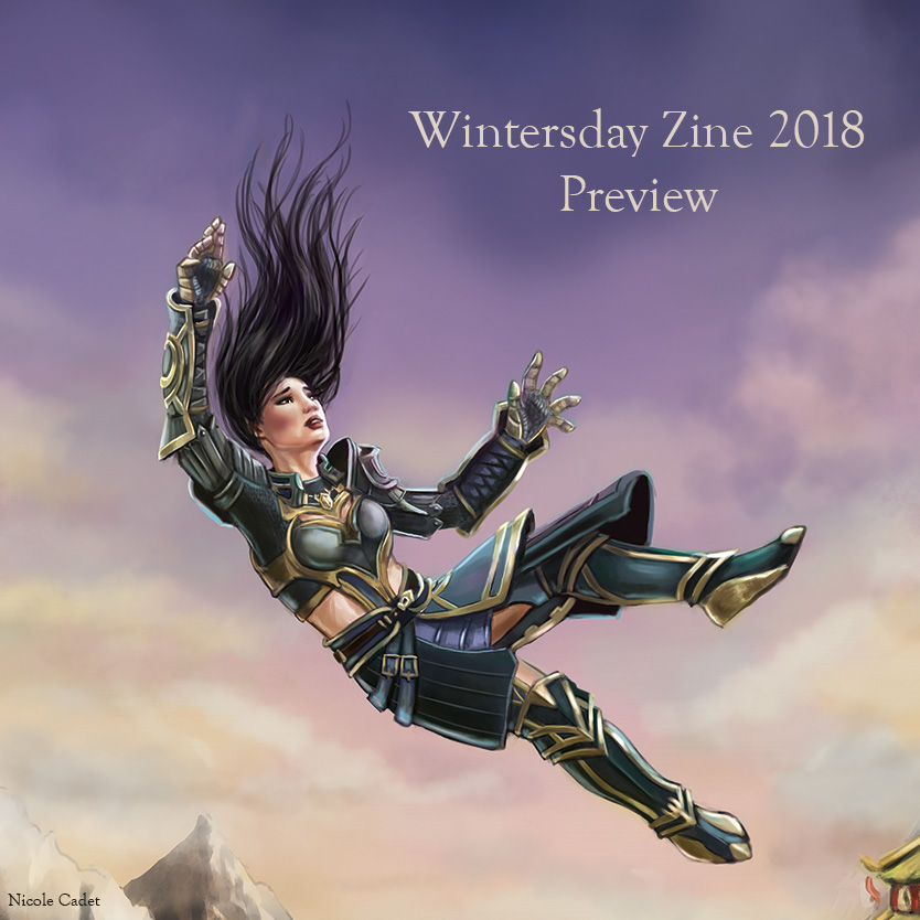 Preview image of one of my images from Wintersday Zine