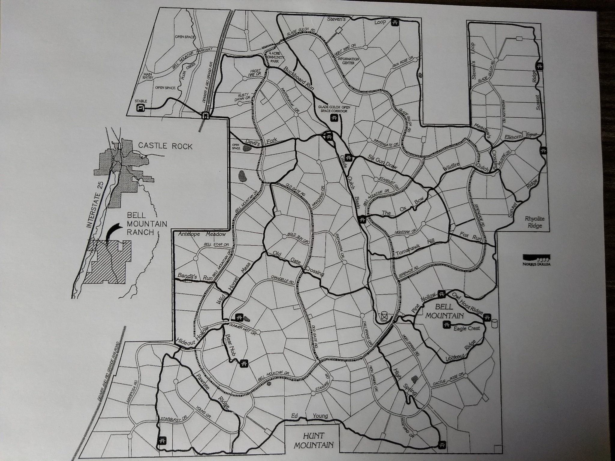 Here's the trail map we have been using all summer to coordinate our trail grooming efforts.