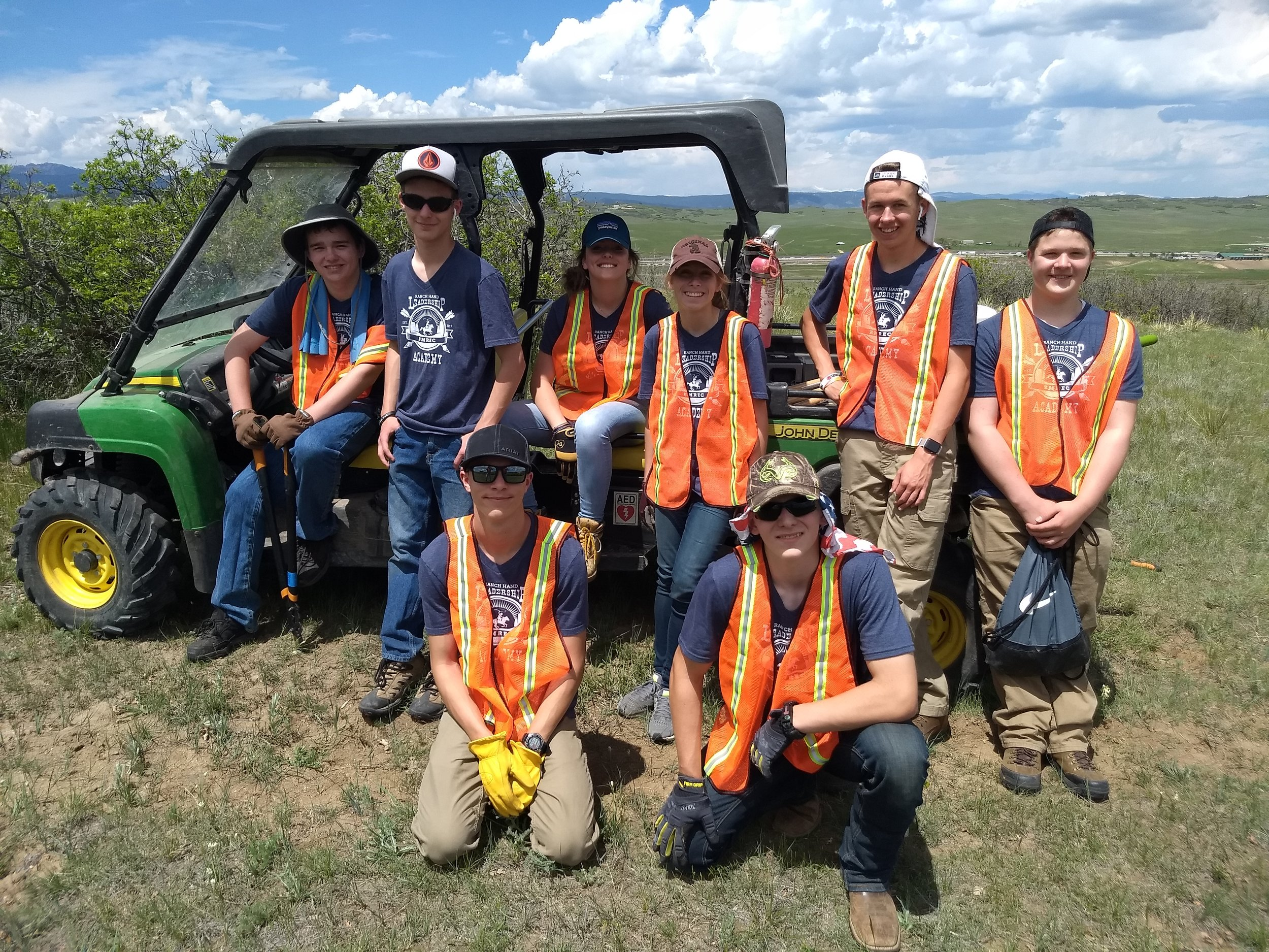 Presenting the 2019 Ranch Hand Leadership Academy youth staff!
