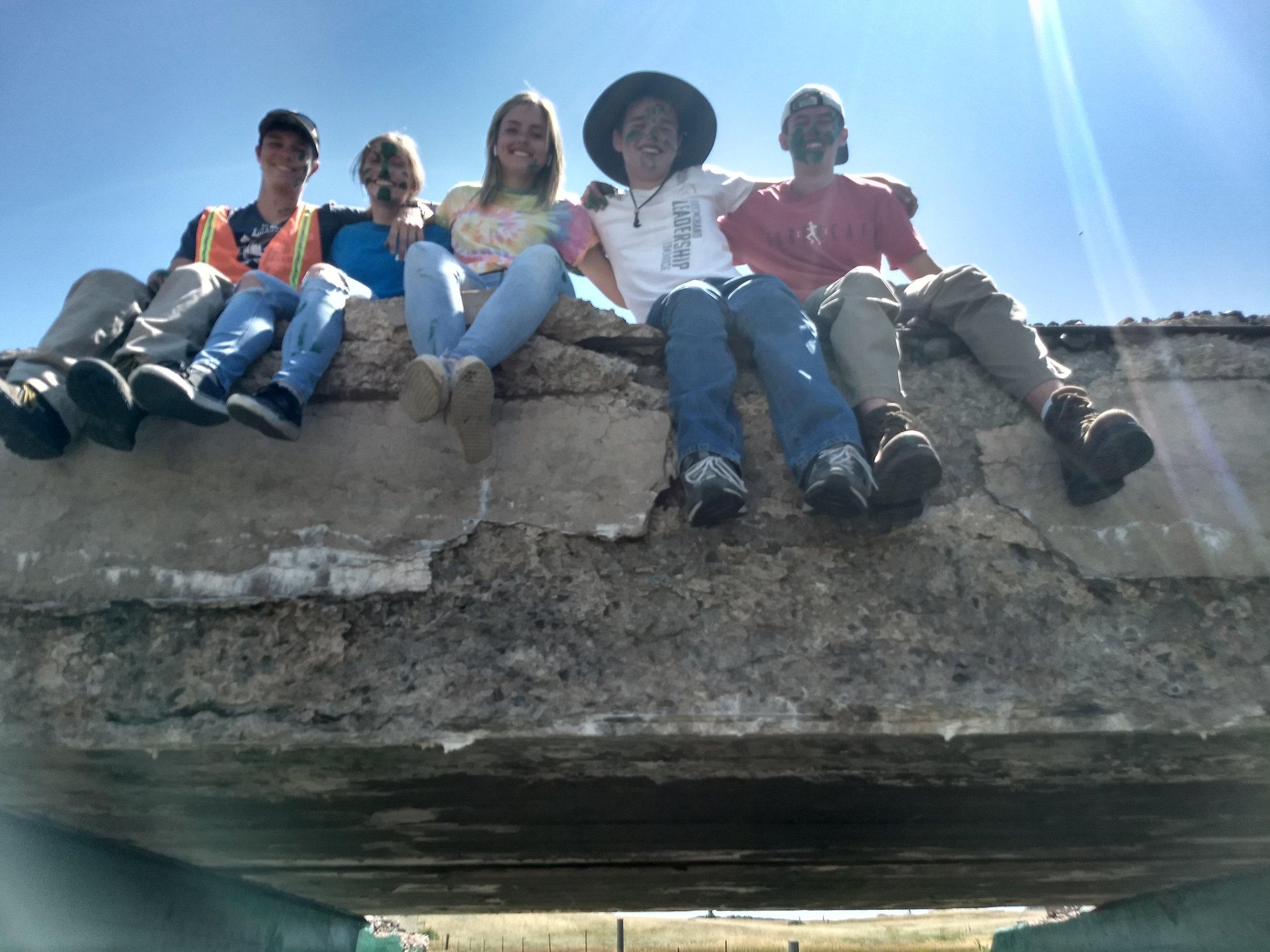 Sam, Avery, Ella, Trevan and Ben.