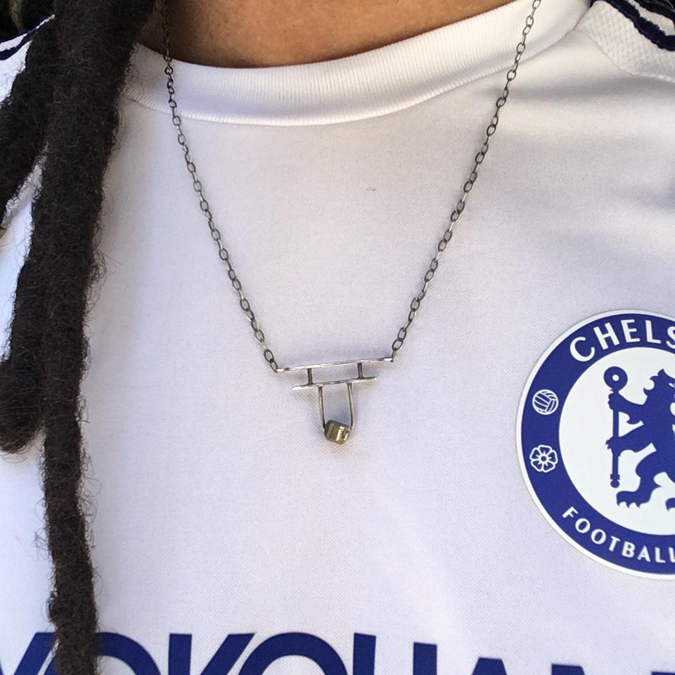 Pyrite Gate Necklace